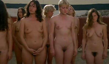 Blondes Lesbensandwich und pornohirsch große titten Strap-On (Teil 1)